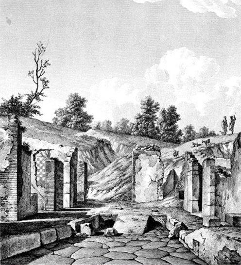 F. Mazois, Les Ruines de Pompéi, París, 1812 - 1838