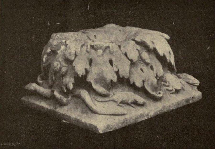 Fuente central del viridarium de la casa VII.6.38